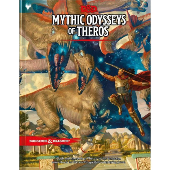 Wizards of the Coast Dungeons and Dragons Mythic Odysseys of Theros