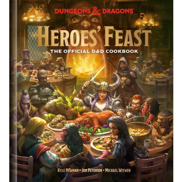 Potter/Ten Speed/Harmony/Rodale Heroes Feast Dungeons and Dragons The Official DandD Cookbook