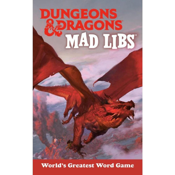 Penguin Young Readers Group Dungeons and Dragons Mad Libs