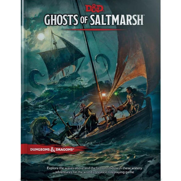 Wizards of the Coast Dungeons and Dragons Ghosts of Saltmarsh