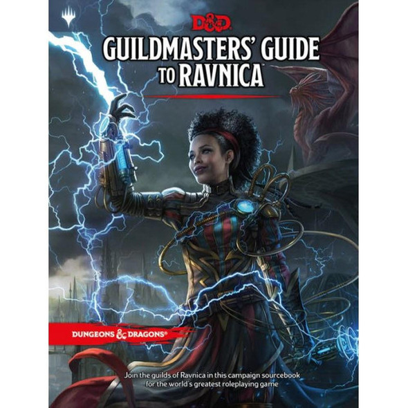 Wizards of the Coast Dungeons and Dragons Guildmasters Guide to Ravnica