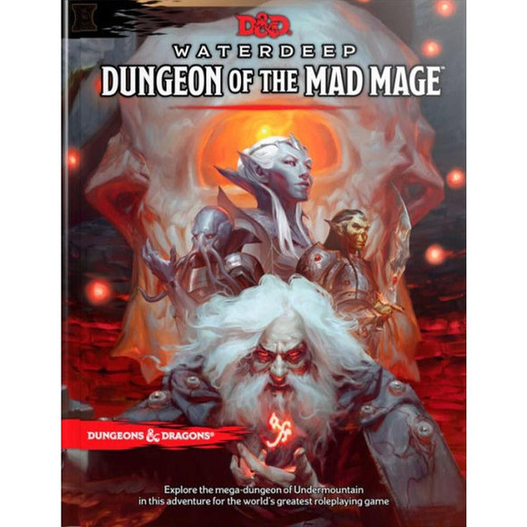 Wizards of the Coast Dungeons and Dragons Waterdeep Dungeon of the Mad Mage