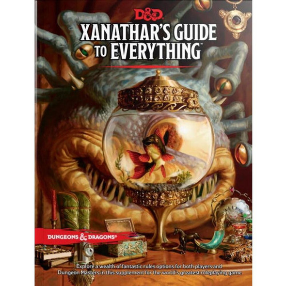 Wizards of the Coast Dungeons and Dragons Xanathars Guide to Everything