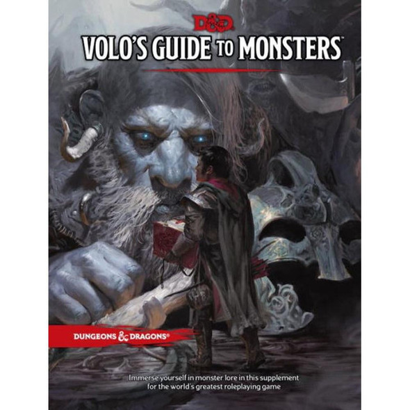 Wizards of the Coast Dungeons and Dragons Volos Guide to Monsters