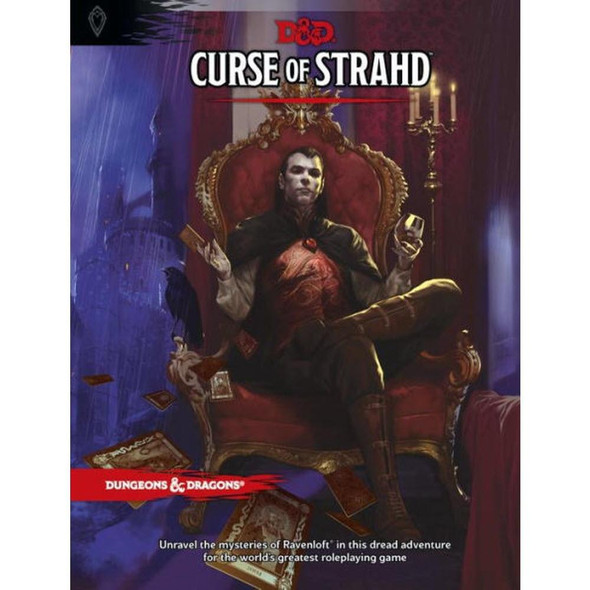 Wizards of the Coast Dungeons and Dragons Curse of Strahd