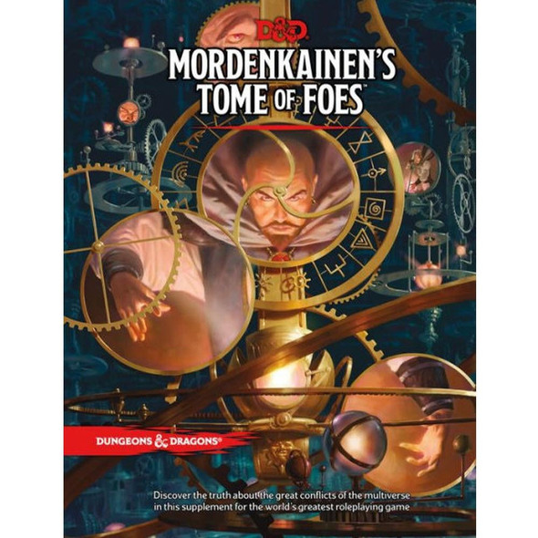 Wizards of the Coast Dungeons and Dragons Mordenkainens Tome of Foes