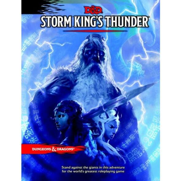 Wizards of the Coast Dungeons and Dragons Storm Kings Thunder