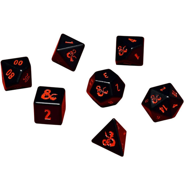 Ultra Pro Dungeons and Dragons Ultra Pro Heavy Metal Dice Set