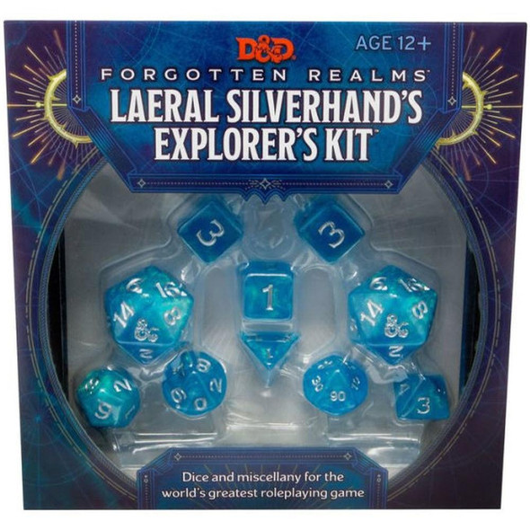 Wizards of the Coast Forgotten Realms Laeral Silverhands Explorers Kit Dungeons and Dragons