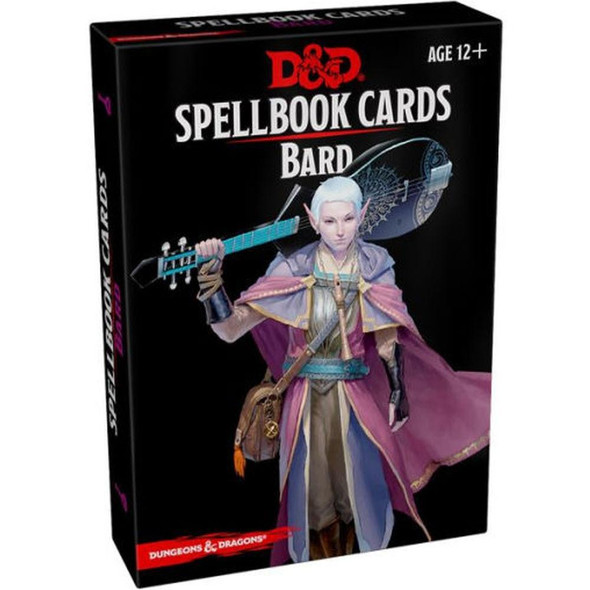 Wizards of the Coast Dungeons and Dragons Spellbook Cards Bard