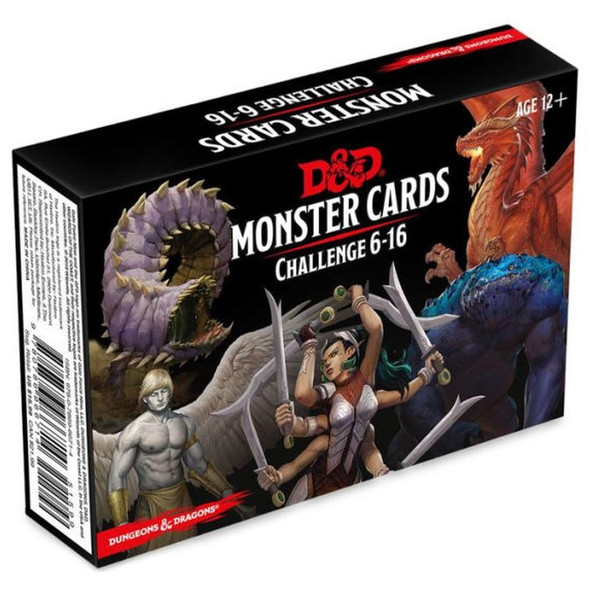 Wizards of the Coast Dungeons and Dragons Spellbook Cards Monsters 6-16