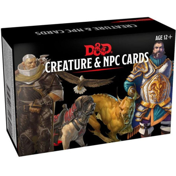 Wizards of the Coast Dungeons and Dragons Spellbook Cards Creature and NPC Cards