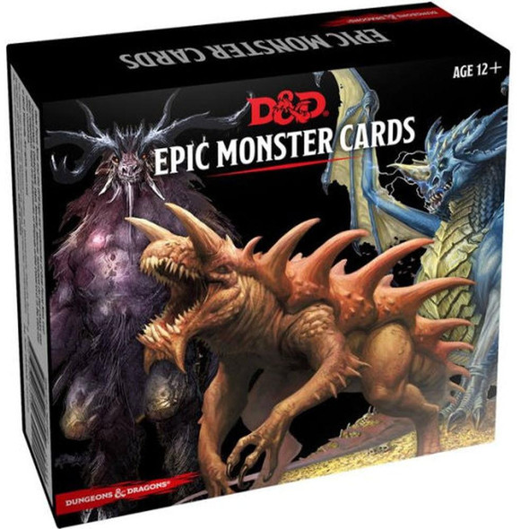 Wizards of the Coast Dungeons and Dragons Spellbook Cards Epic Monsters