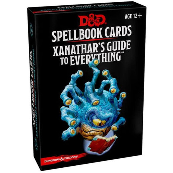 Wizards of the Coast Dungeons and Dragons Spellbook Cards Xanathars Guide to Everything