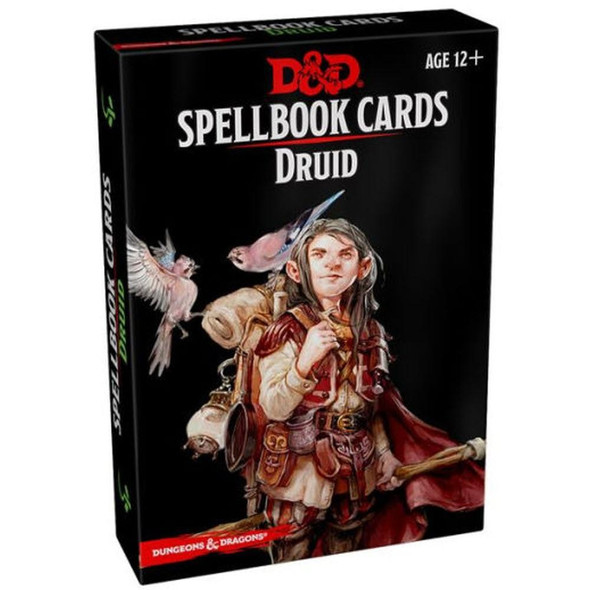 Wizards of the Coast Dungeons and Dragons Spellbook Cards Druid