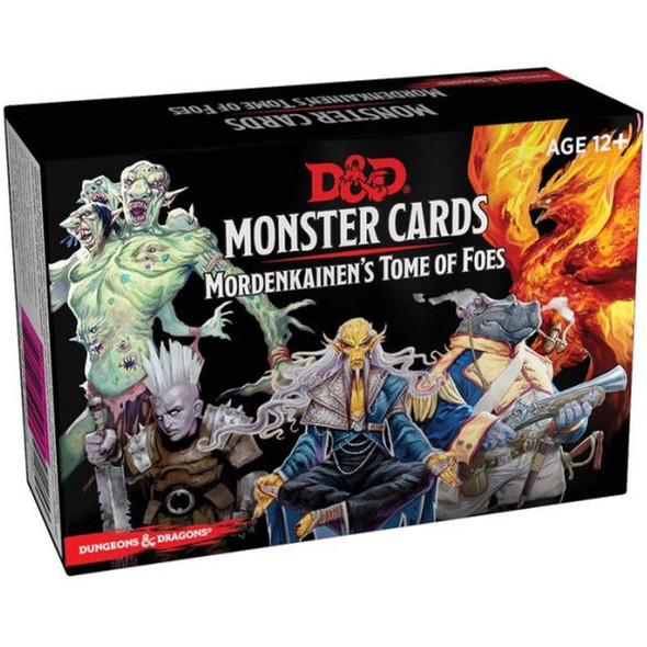 Wizards of the Coast Dungeons and Dragons Spellbook Cards Mordenkainens Tome of Foes