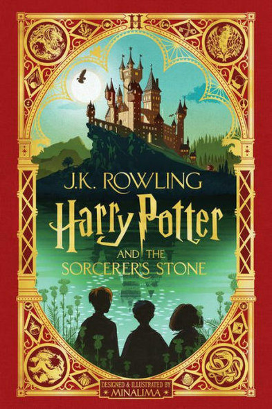 Scholastic, Inc Harry Potter and the Sorcerers Stone MinaLima Edition Harry Potter Series #1