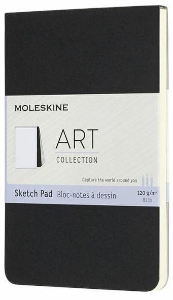 Moleskine Moleskine Art Sketch Pad, Pocket, Black 3.5 x 5.5