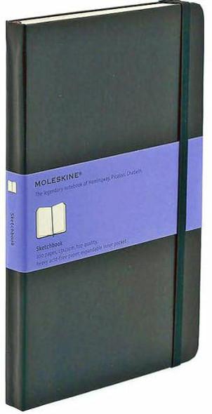 Moleskine Moleskine Black Large Sketchbook 5.25 x 8.25