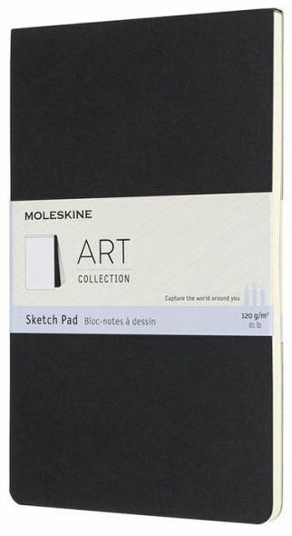 Moleskine Moleskine Art Sketch Pad, Large, Black 5 x 8.25