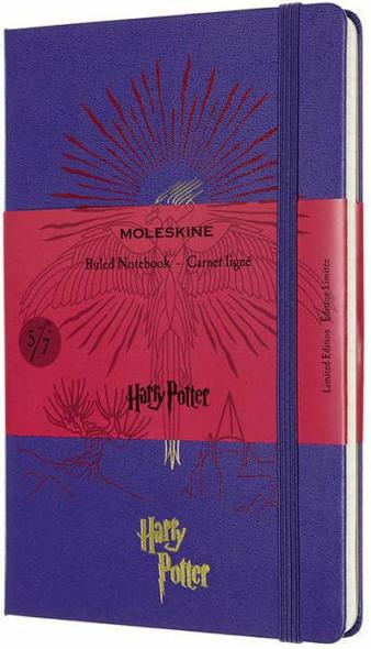 Moleskine Moleskine Limited Edition Notebook Harry Potter, Book 5, Large, Ruled, Brilliant Violet 5 x 8.25