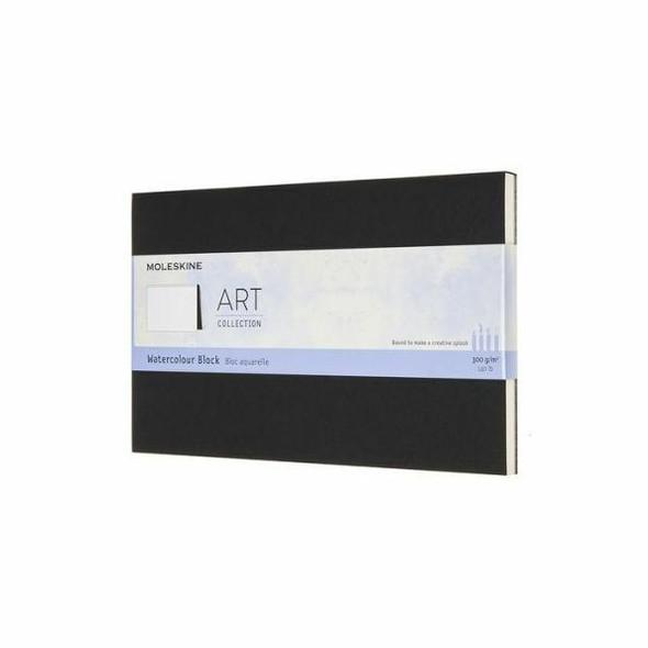 Moleskine Moleskine Art Watercolor Block, Large, Black 5 x 8.25