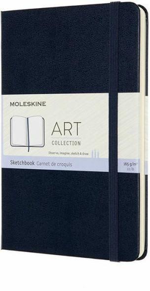 Moleskine Moleskine Art Sketchbook, Medium, Sapphire Blue 4.5 x 7