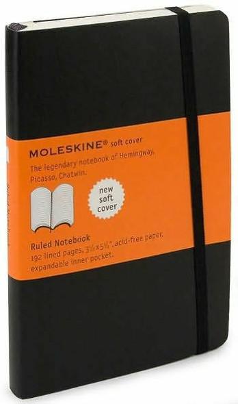 Moleskine Moleskine Classic Soft Cover Pocket Ruled Notebook