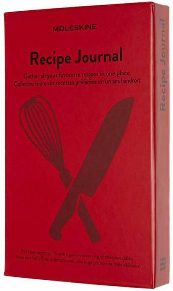 Moleskine Moleskine Passion, Recipe Journal, Large, Boxed/Hard Cover 5 x 8.25
