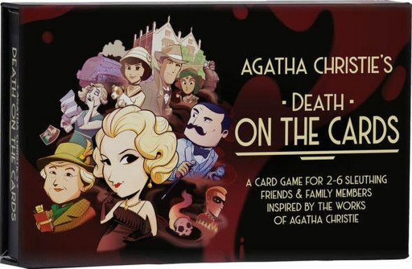 Asmodee North America Agatha Christie Death on the Cards