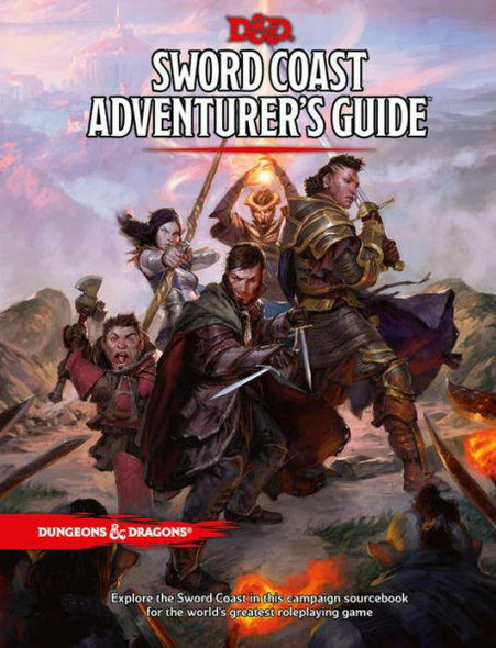 Wizards of the Coast Dungeons and Dragons Sword Coast Adventurers Guide