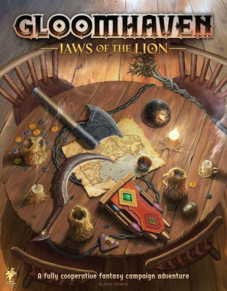 Cephalofair Games Gloomhaven Jaws of the Lion Strategy Game