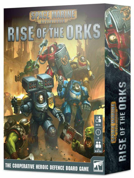 Games Workshop Space Marine Adventures Rise of the Orks Strategy Game