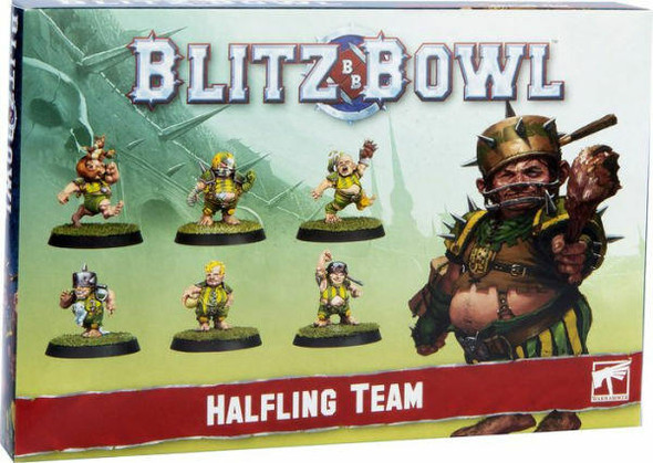 Games Workshop Blitz Bowl Halfling Team