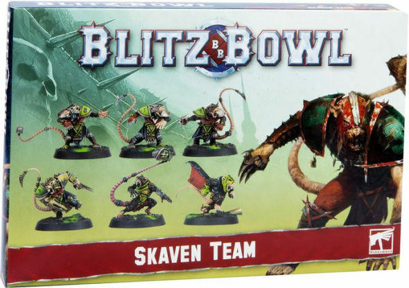 Games Workshop Blitz Bowl Skaven Team