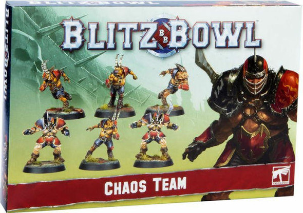 Games Workshop Blitz Bowl Chaos Team