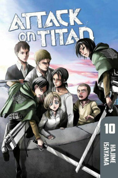 Kodansha International Attack on Titan, Volume 10