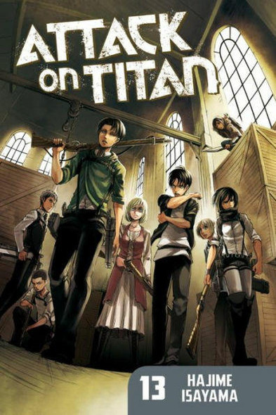 Kodansha International Attack on Titan, Volume 13