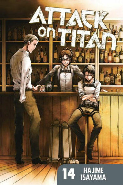 Kodansha International Attack on Titan, Volume 14