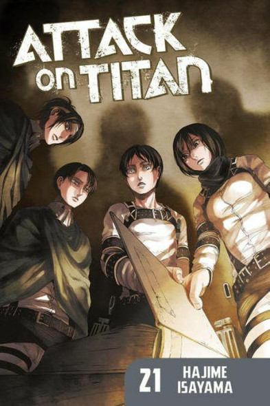 Kodansha International Attack on Titan, Volume 21