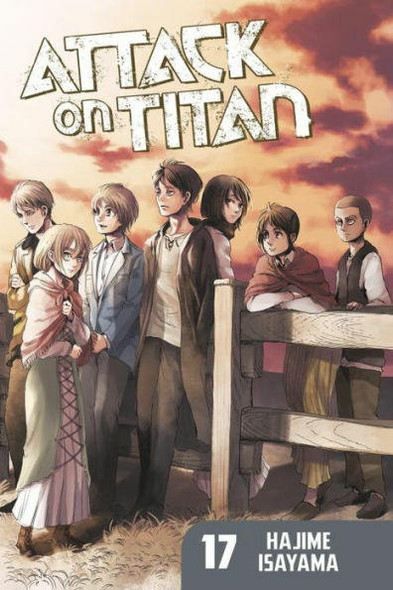 Kodansha International Attack on Titan, Volume 17
