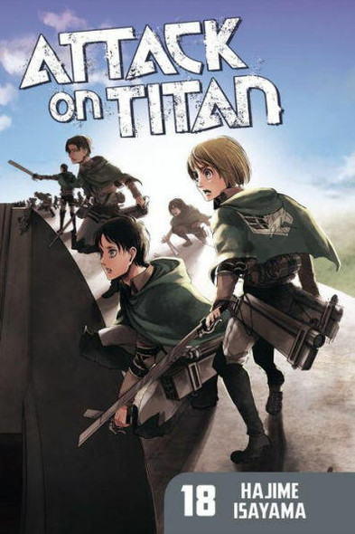 Kodansha International Attack on Titan, Volume 18