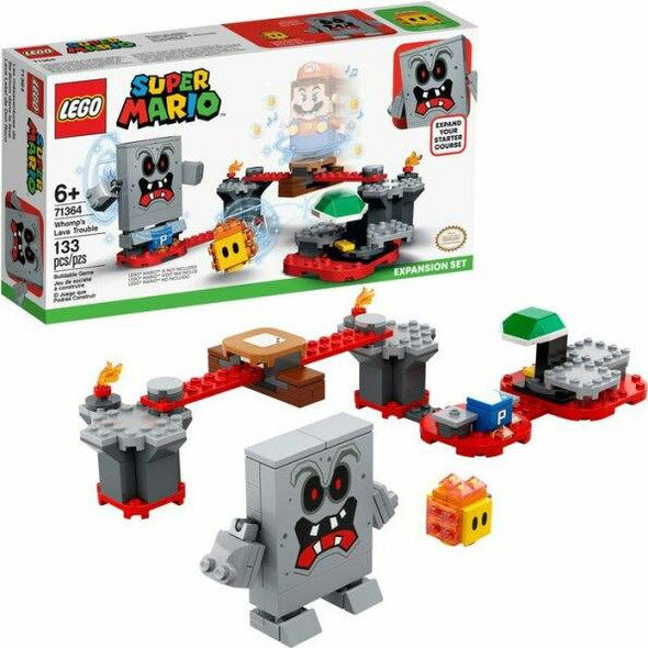 LEGO LEGO Super Mario - Whomps Lava Trouble Expansion Set 71364