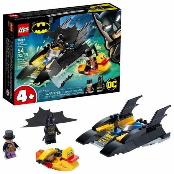 LEGO LEGO Super Heroes DC Batman Batboat The Penguin Pursuit 76158