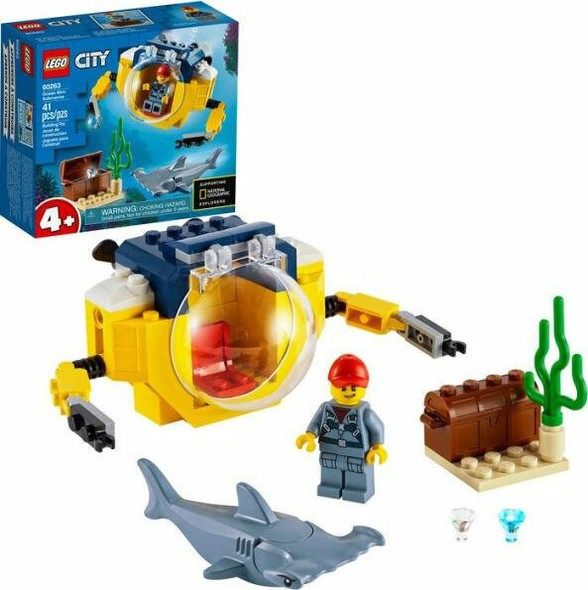 LEGO LEGO City Oceans Ocean Mini-Submarine 60263