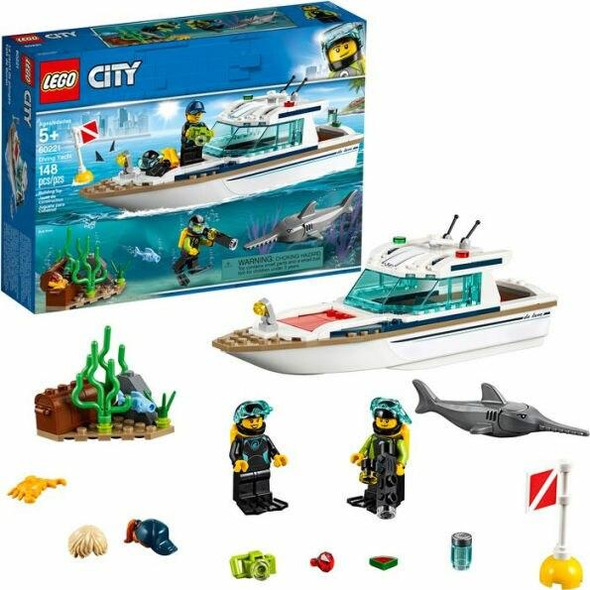 LEGO LEGO City Great Vehicles Diving Yacht 60221