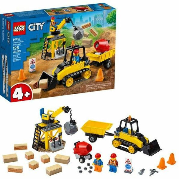 LEGO LEGO City Great Vehicles Construction Bulldozer 60252