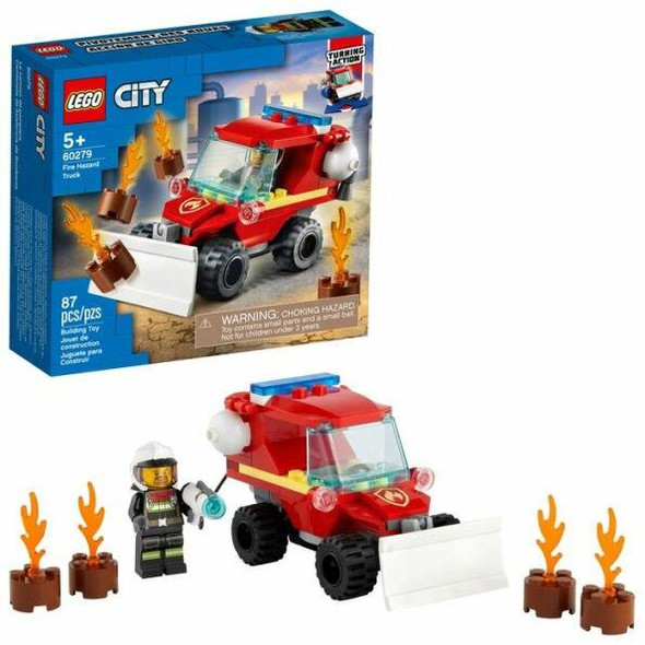 LEGO LEGO City Fire Hazard Truck 60279