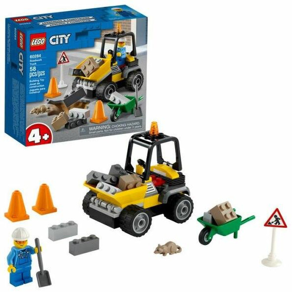 LEGO LEGO City Great Vehicles Roadwork Truck 60284