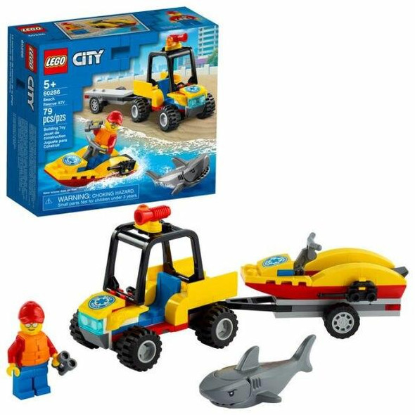 LEGO LEGO City Great Vehicles Beach Rescue ATV 60286
